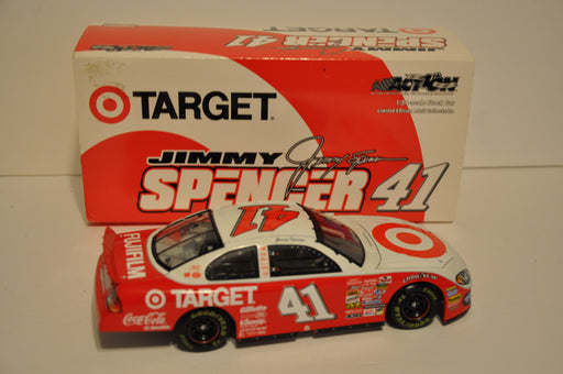 Action Racing 1/24 Diecast #41 Jimmy Spencer 2002 Target Dodge Intrepid R/T   - TvMovieCards.com