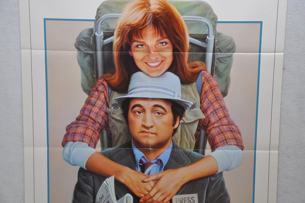 1981 Continental Divide Original 1SH Movie Poster 27 x 41 John Belushi   - TvMovieCards.com