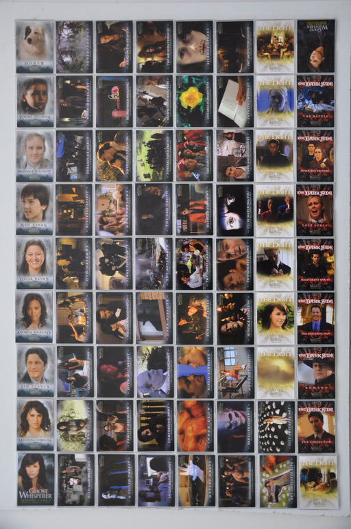 Ghost Whisperer Seasons 1 & 2 Base Card Set 72 Cards   - TvMovieCards.com