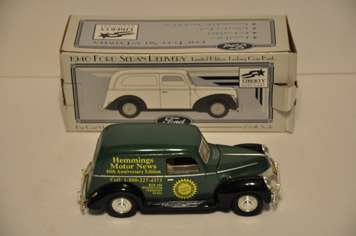 Liberty Classics Diecast Coin Bank 1940 Ford Sedan Delivery Hemmings Motor News   - TvMovieCards.com