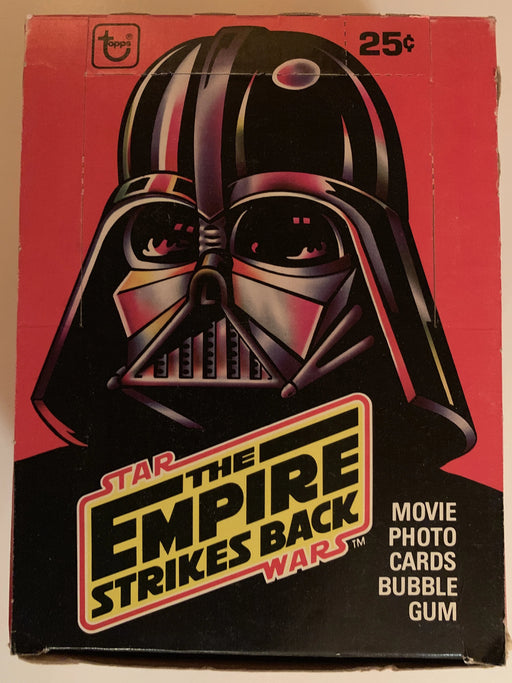 1980 Star Wars Empire Strikes Back Series 1 Full Vintage Trading Card Box 36ct   - TvMovieCards.com