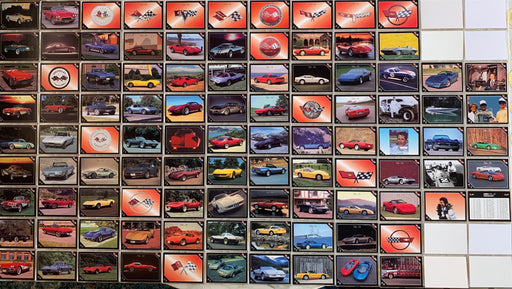 Vette Set - Corvette Base Card Set 100 Cards Collect-A-Card 1991   - TvMovieCards.com