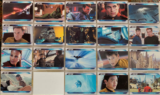 Star Trek Movie 2009 Convention Preview Promo Card Set PP1 - PP20  (No PP17)   - TvMovieCards.com