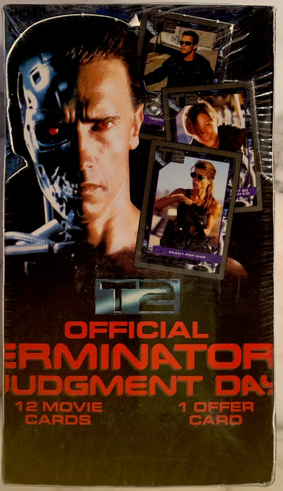 Terminator 2 Judgement Day Movie Vintage Card Box 36 Packs Impel 1991   - TvMovieCards.com