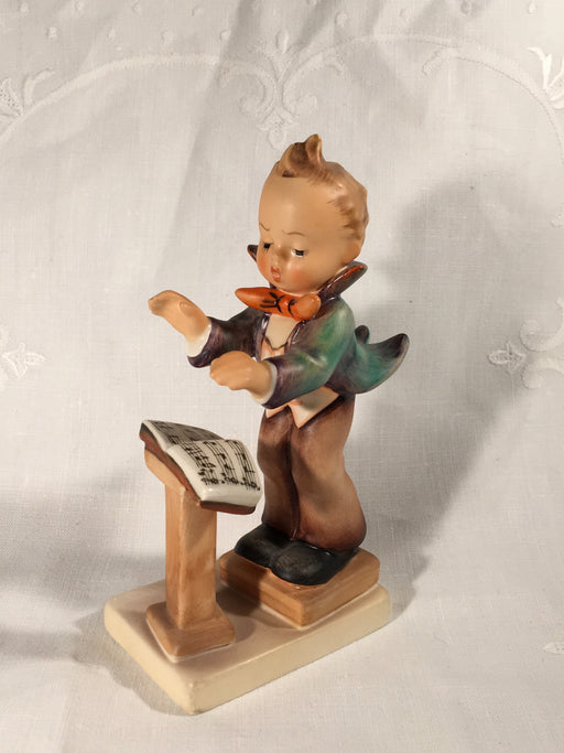 "Goebel Hummel TMK5 #129 ""Band Leader"" (Boy Music Conductor) 5.25"" Tall   - TvMovieCards.com"