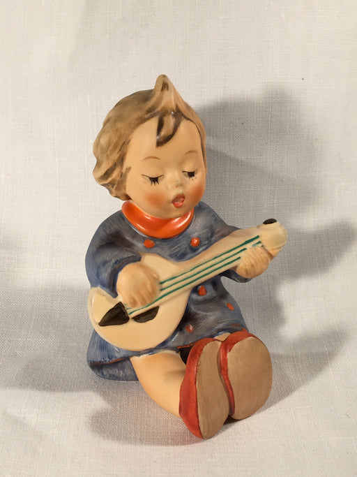"Goebel Hummel TMK5 #53 ""Joyful"" (Girl with Guitar) 3.50"" Tall   - TvMovieCards.com"