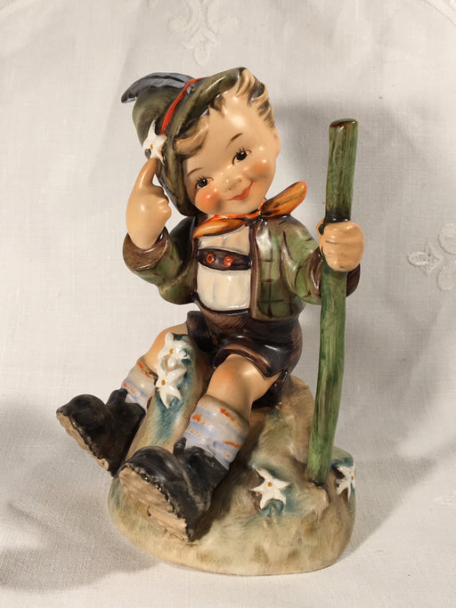 "Goebel Hummel Figurine TMK4 #315 ""Little Mountaineer"" 5"" Tall   - TvMovieCards.com"