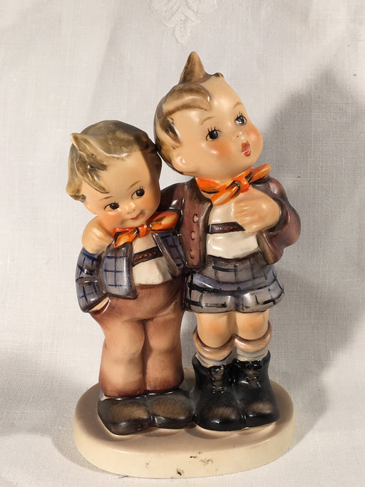 "Goebel Hummel Figurine TMK4 #123 ""Max and Moritz"" 5"" Tall   - TvMovieCards.com"