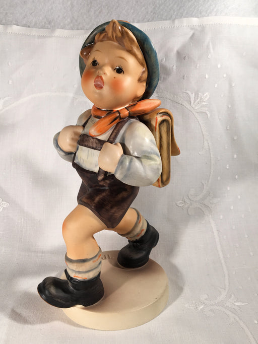 "Goebel Hummel Figurine TMK5 #82/II ""School Boy"" 7.75"" Tall   - TvMovieCards.com"