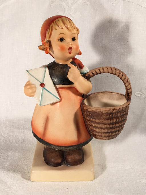 "Goebel Hummel Figurine TMK5 #13/0 ""Meditation"" 5.25"" Tall   - TvMovieCards.com"