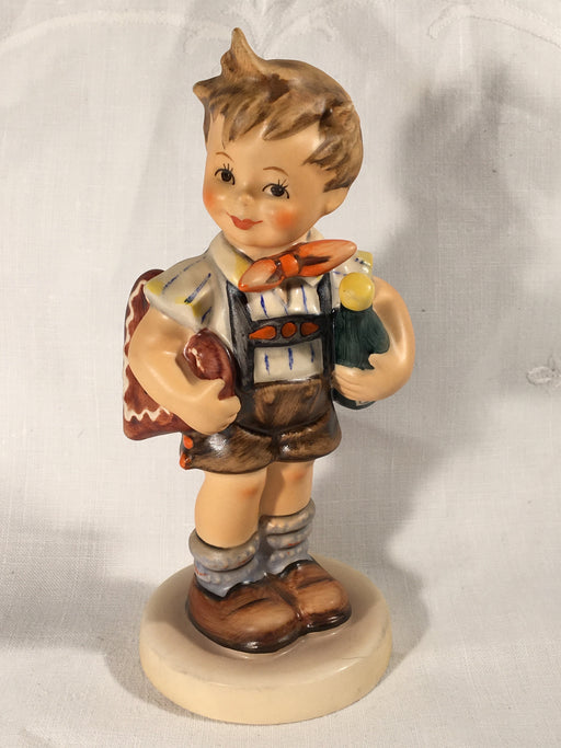 "Goebel Hummel Figurine TMK6 #399 ""Valentine Joy"" Collectors Club 5.75"" Tall   - TvMovieCards.com"