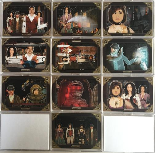 Warehouse 13 Premium Packs Season 4 Grand Design Chase Card Set 10 Cards   - TvMovieCards.com