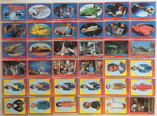 Thunderbirds Premium 72 Card Set   - TvMovieCards.com
