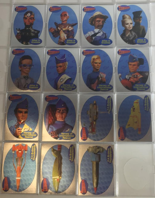 Thunderbirds Premium Thunderbirds are Go Foil Chase Card Set F1 -F15   - TvMovieCards.com