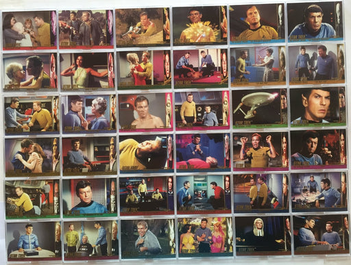 Star Trek The Original Series 1 TOS Character Log Chase Card Set 58 Cards   - TvMovieCards.com