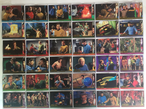 Star Trek The Original Series 2 TOS Character Log Chase Card Set 52 Cards   - TvMovieCards.com