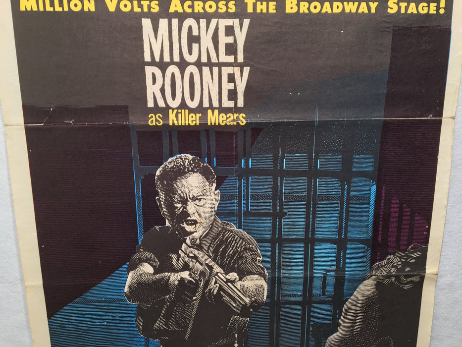 The Last Mile 1959 1SH 1 Sheet Movie Poster 27x41 Mickey Rooney   - TvMovieCards.com