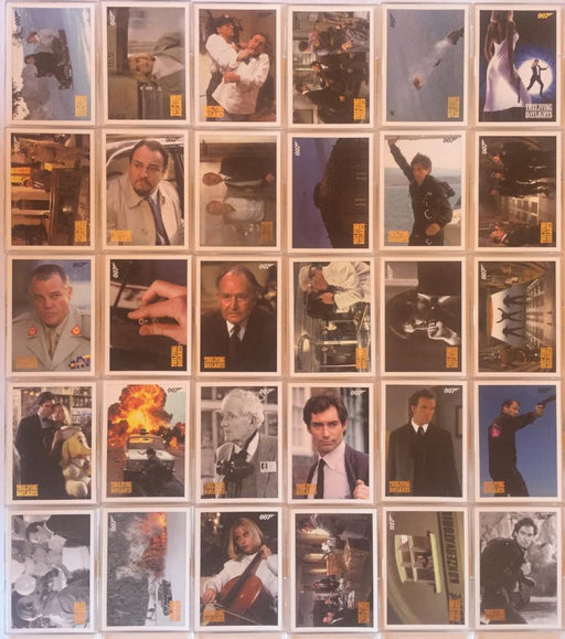 James Bond Archives Spectre The Living Daylights Throwback Parallel Card Set   - TvMovieCards.com