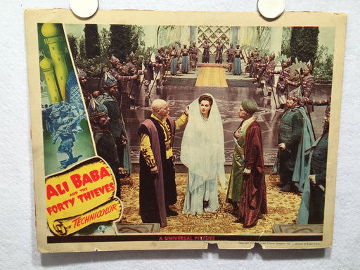Ali Baba and the Forty Thieves 1944 Lobby Card Maria Montez Jon Hall   - TvMovieCards.com