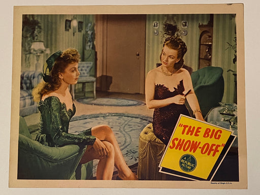 1945 The Big Show-Off Lobby Card 11x14 Arthur Lake, Dale Evans, Lionel Stander   - TvMovieCards.com