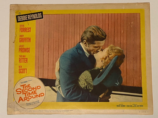 1961 The Second Time Around #2 Lobby Card 11x14 Debbie Reynolds Andy Griffith   - TvMovieCards.com