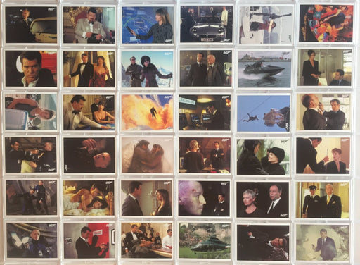 James Bond Classics 2016 The World Is Not Enough Base Card Set 72 Cards   - TvMovieCards.com