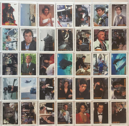 James Bond Classics 2016 Licence To Kill Gold Foil Parallel Card Set 65 Cards   - TvMovieCards.com