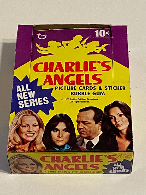 1977 Charlie's Angels Series 3 Empty Vintage Trading Card Wax Box + 20 Wrappers   - TvMovieCards.com