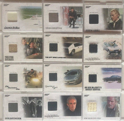 James Bond Archives 2014 Edition Relic Prop Card Lot 12 Cards   - TvMovieCards.com