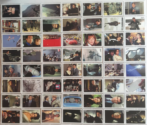James Bond Archives 2015 Edition Goldeneye Throwback Card Set 102 Cards   - TvMovieCards.com