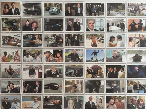 James Bond Archives 2015 Edition Quantum of Solace Base Card Set 90 Cards   - TvMovieCards.com