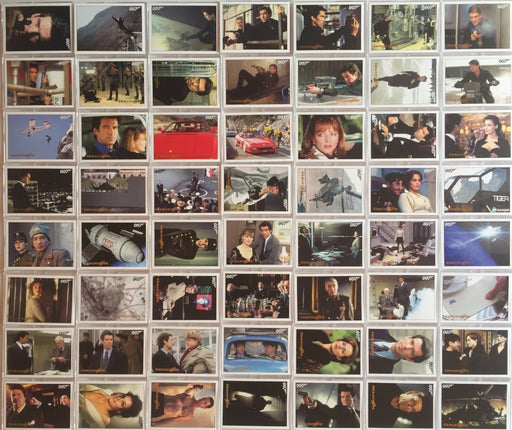 James Bond Archives 2015 Edition Goldeneye Gold Foil Parallel Card Set 102 Cards   - TvMovieCards.com