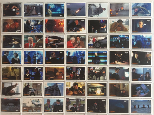 James Bond Archives 2014 Edition Tomorrow Never Dies Gold Parallel Card Set   - TvMovieCards.com