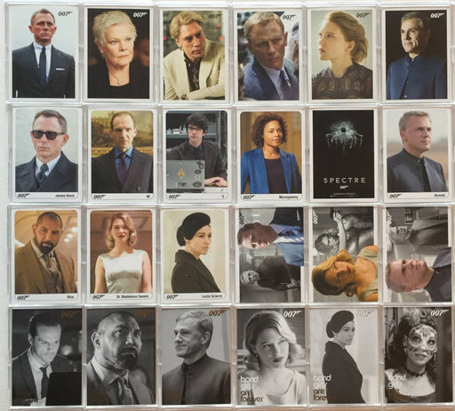 James Bond Archives 2017 Final Edition Spectre / SkyFall Expansion 24 Card Set   - TvMovieCards.com