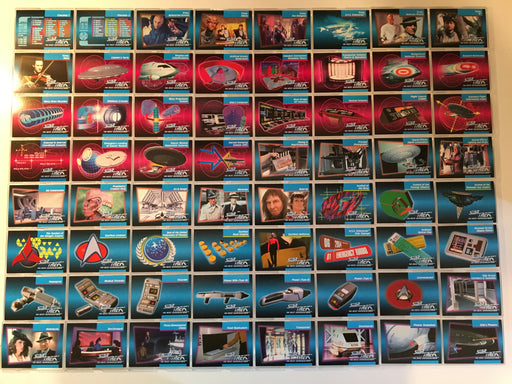 Star Trek TNG The Next Generation Impel 120 Base Card Set 1992   - TvMovieCards.com