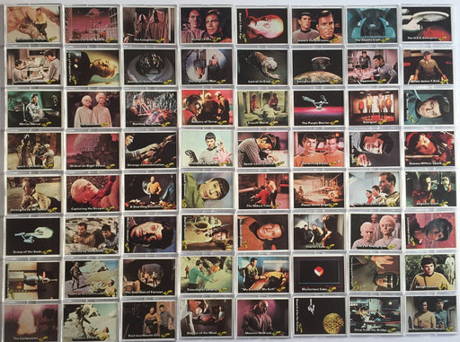 Star Trek 1976 Topps Vintage Card Set 88 Cards with 22 Stickers   - TvMovieCards.com