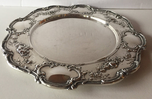 Antique Edwardian Dinner Plate Model A6620 by Gorham Sterling Silver* 10-7/8 Inc   - TvMovieCards.com