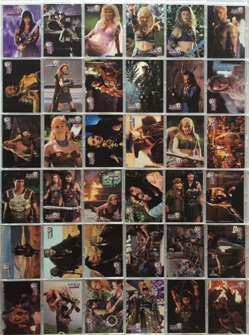 Xena Series II Two Topps Base Card Set   - TvMovieCards.com