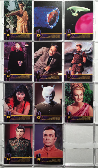 Star Trek The Original Series Season 2 TOS (11) Autograph Challenge Chase Cards   - TvMovieCards.com