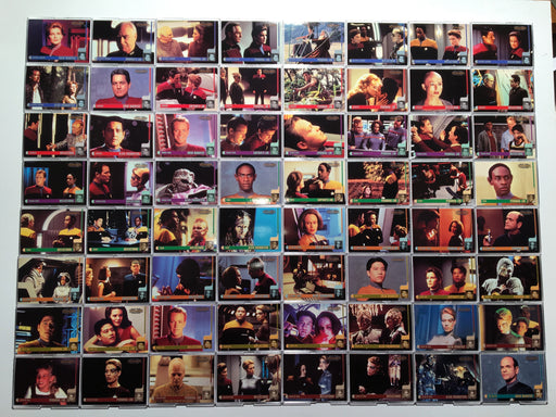 Star Trek Voyager - Profiles Skybox (90) Trading Base Card Set 1998   - TvMovieCards.com