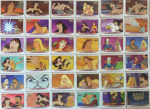 Xena & Hercules Animated Adventures Base Card Set   - TvMovieCards.com