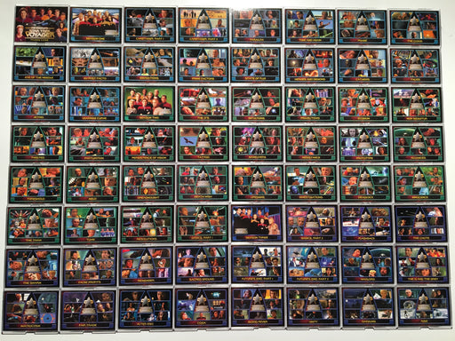 Star Trek Voyager Complete (180) Trading Base Card Set Rittenhouse 2002   - TvMovieCards.com