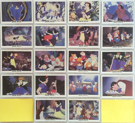 Disney Snow White Vintage Card Set 18 Cards Series A Set #5 Treat Hobby 1982   - TvMovieCards.com