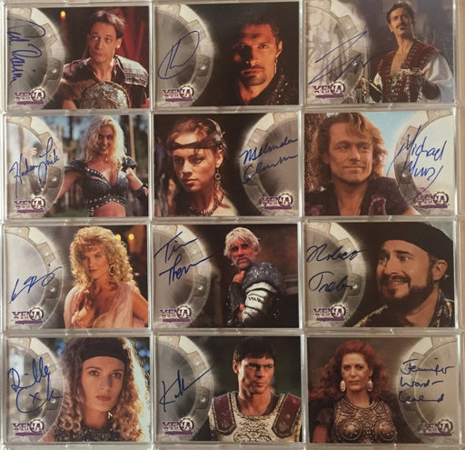 Xena Series II Two Topps Autograph Card Set 12 cards A1 -A12