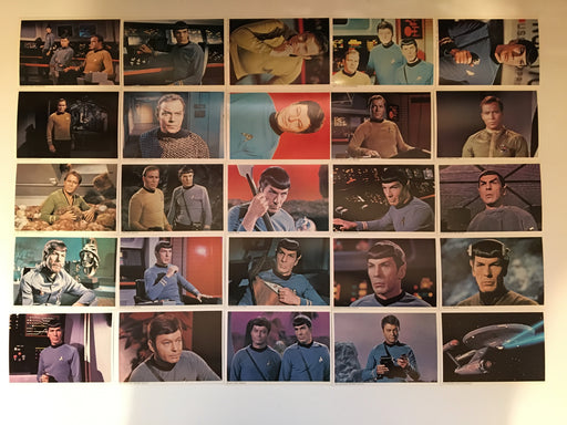 STAR TREK TOS The Original Series (48) PostCard Set 1977 You Pick Card Number Entire (48) Postcard Set  - TvMovieCards.com