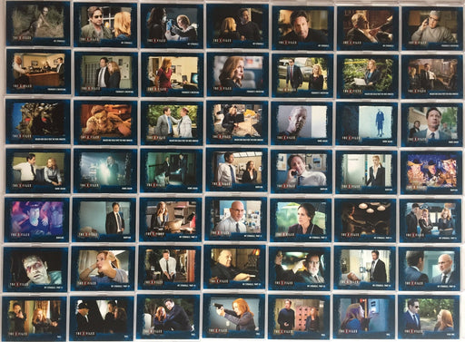 X-Files Seasons 10 & 11 Archive Numbered Chase Parallel Card Set 96 Cards   - TvMovieCards.com