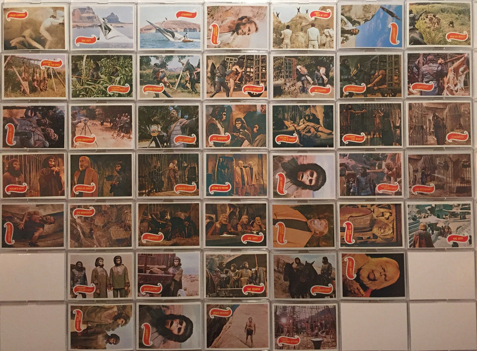 Planet of the Apes 1967 Topps Vintage Card Set 44 Cards Green Back   - TvMovieCards.com