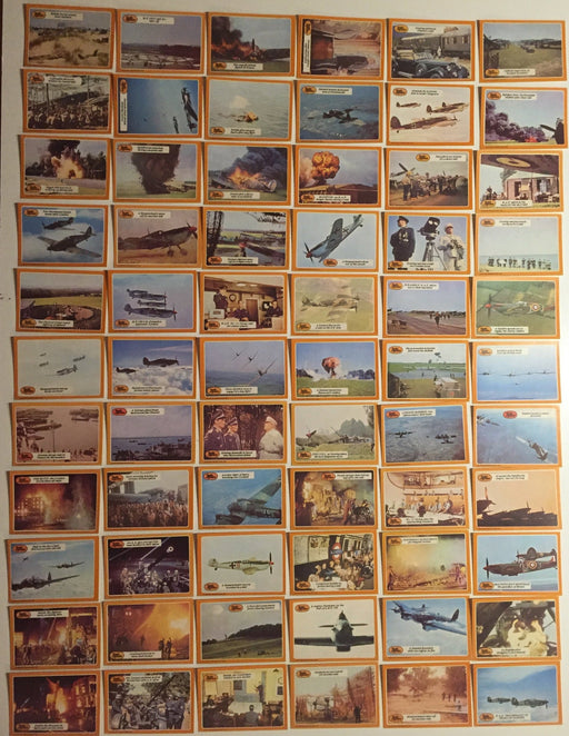 Battle of the Britain A&BC Vintage Card Set 66 ) Cards 1969 U.K.   - TvMovieCards.com