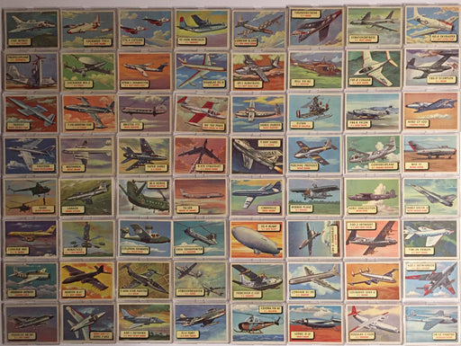 Planes of the World Vintage Card Set 120 Cards + A&BC UK 1958   - TvMovieCards.com