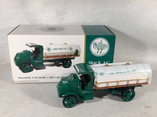 1st First Gear 1/34 Phillips 77 Aviation Mack AC Tanker Truck - 19-2941   - TvMovieCards.com